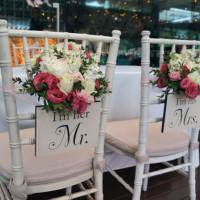 Bridal Chairs (Close-up)