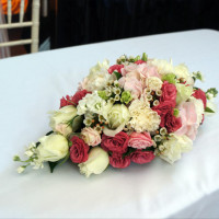 Marriage Signing Table Centrepiece
